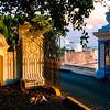 Gates to La Fortaleza, Old San Juan, Puerto Rico