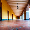 Corridor of the Historic Ballaja Barracks, Currently Museum of the Americas, San Juan, Puerto Rico
