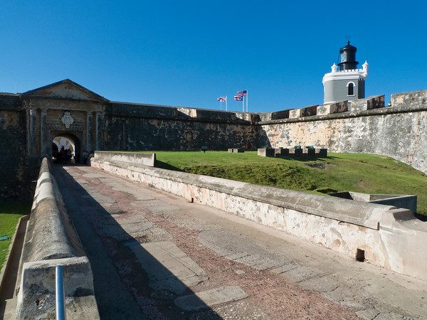 Entrance View of a Fort, Fort San Felipe  Del Morro, Old San Juan, Puerto Rico