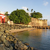 Red Gate and City Walls, Paseo Del Morro, Old San Juan, Puerto Rico