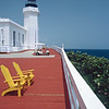 Sparkling White Arecibo Lighthouse, Puerto Rico