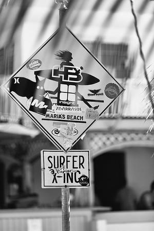 Fun Sign in Rincon, Puerto Rico