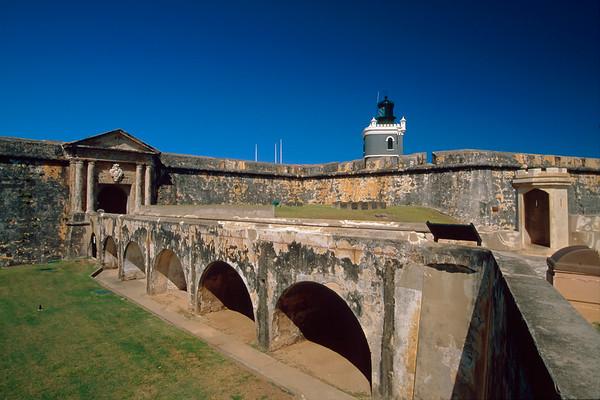 Main Gate of Fort San Felipe del Morro, Old San Juan, Puerto Rico