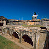Main Gate of Fort San Felipe del Morro, Old San Juan, Puerto Rico