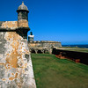 Towers of El Morro Fort, Old San Juan, Puerto Rico