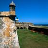 Towers of El Morro Fort, Old San Juan, Puerto Rico