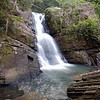 La Mina Waterfall in El Yunque Rainforest, Puerto Rico