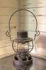 Antique Weighted Kerosene Lantern