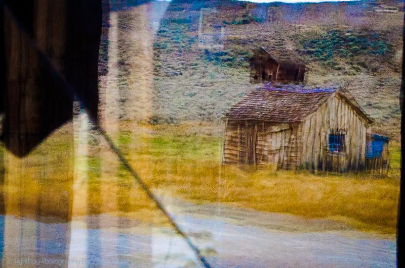 Through Broken Window