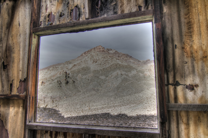Hills of Leadville - Framed