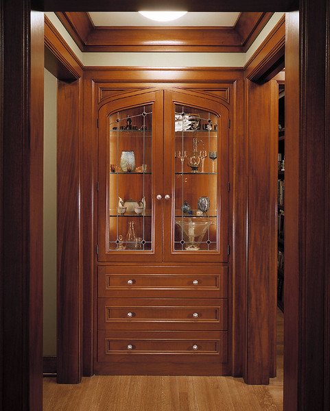Main Entryway Display Cabinet