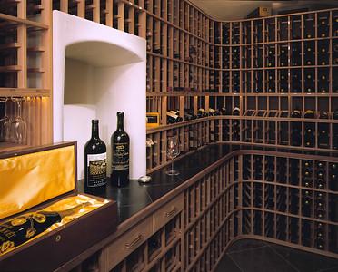 Wine Cellar Alcove