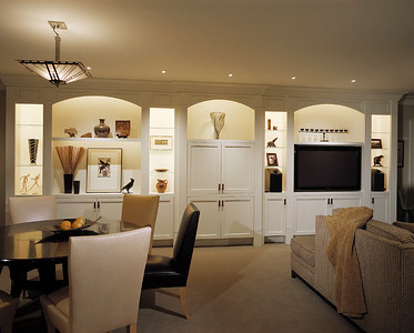 Family Room From Kitchenette