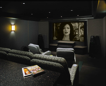 Home Theater From Back
