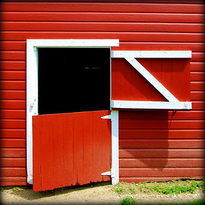 Barn Door Ajar