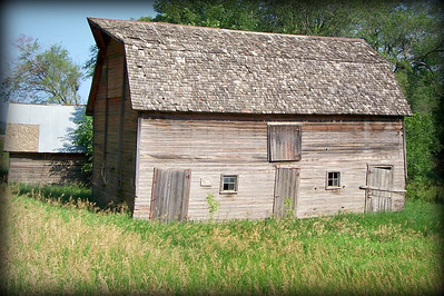 Loess Hills, Iowa, Barn 1