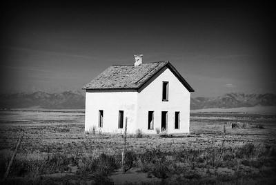 Abandonment in San Luis Valley, Colorado