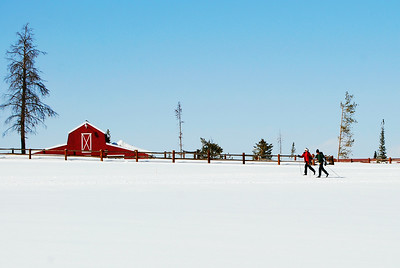 Cross-Country Skiing at Snow Mountain Ranch, Colorado