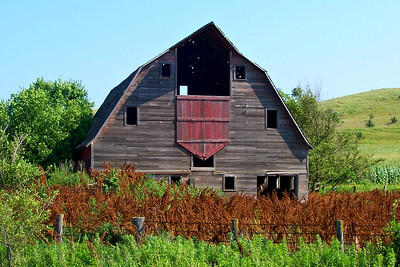 Loess Hills, Iowa, Barn 3
