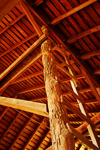 Native Timber Barn Interior