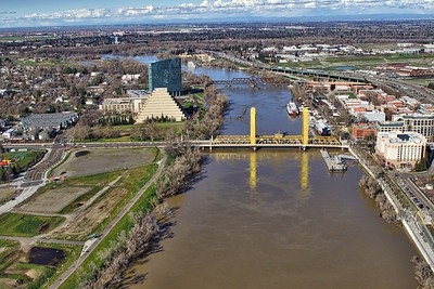 Tower Bridge on the Sacramento River