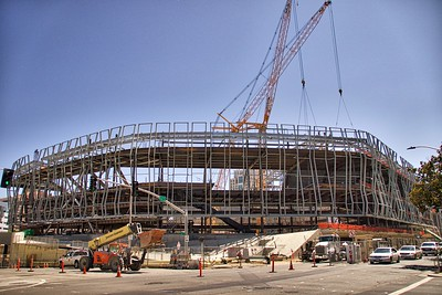 Kings Arena (Golden 1 Center) Construction