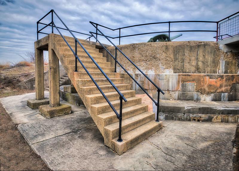 Battery Gunnison Bunker At Sandy Hook
