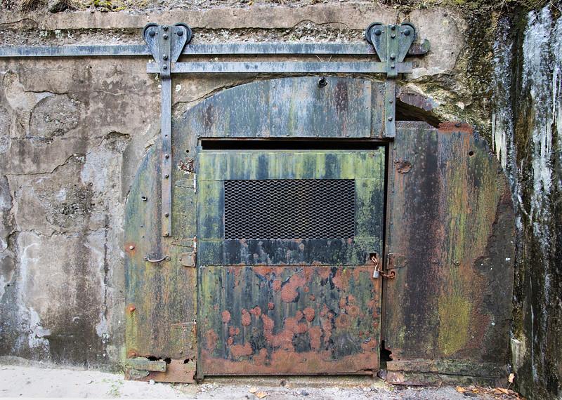 Rolling Door To The Bunker