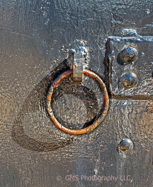 Ring And Rivets On Battery Gunnison