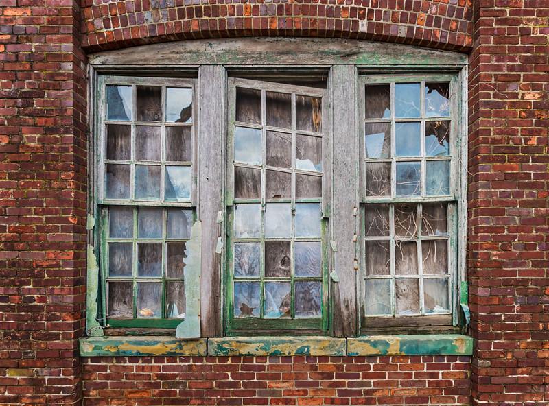 Trio Of Broken Windows