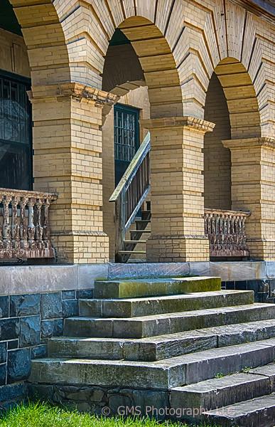 Stairs In Aging Sandy Hook Building