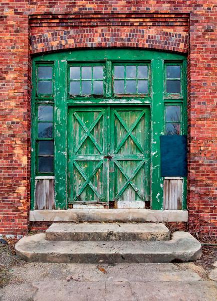 Sandy Hook Carpenters Shop Entrance