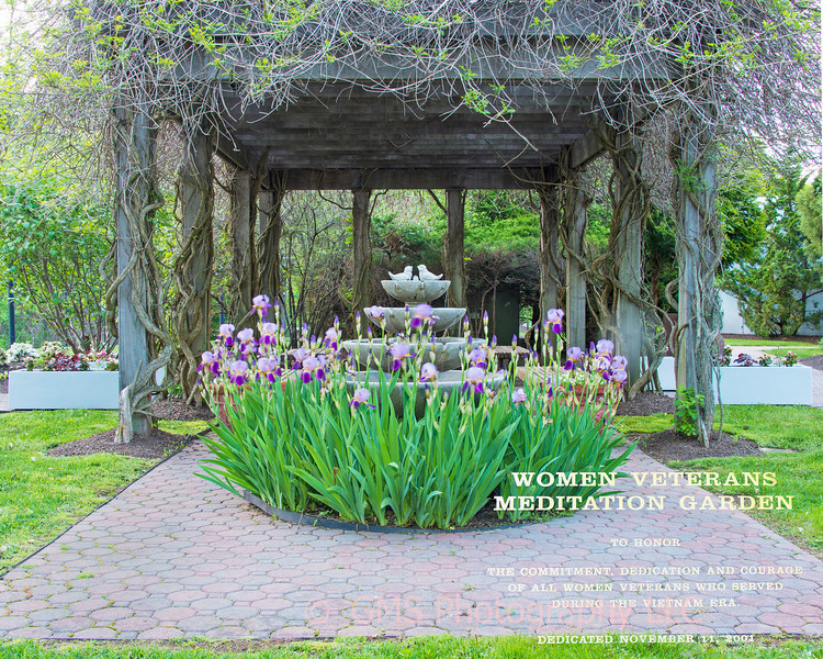 Women Vietman Veterans Meditation Garden