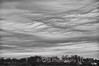 Cloud formations over keyport harber in Keypost, New Jersey create an angry tapestry