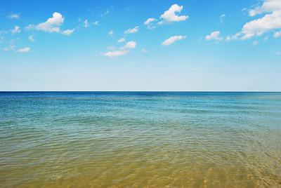 Summer Calm on Lake Michigan, Wisconsin