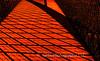 Footbridge Patterns By Streetlights
