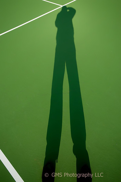 Shadow On The Tennis Court