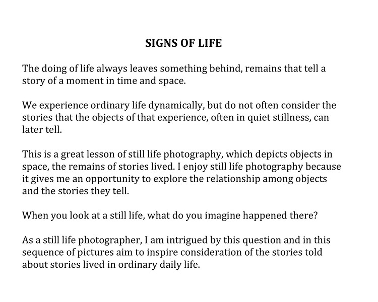 Microsoft Word - Signs of Life.docx