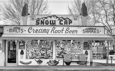 Snow Cap Drive-In, Seligman, Arizona