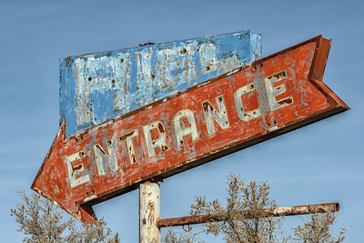 Fuel Entrance, Woodside, Utah