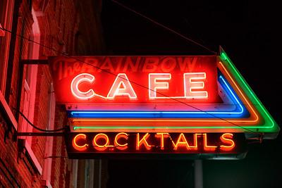 The Rainbow Cafe, Pendleton, Oregon