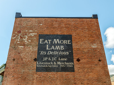 "Eat More Lamb - It's Delicious"""