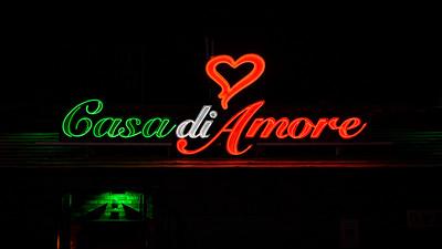 Casa di Amore Restaurant Neon Sign, Las Vegas, Nevada
