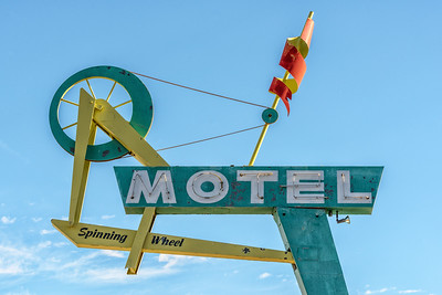 Spinning Wheel Motel, Fillmore, Utah
