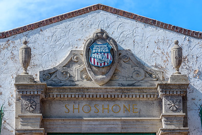 Union Pacific Station, Shoshone Idaho