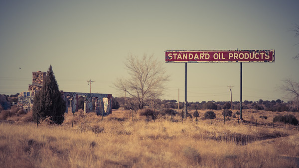 Standard Oil Products Sign, Arizona