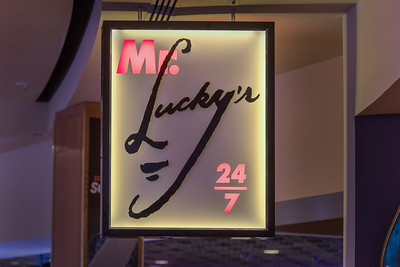 Mr. Lucky's Restaurant, Hard Rock Hotel, Las Vegas