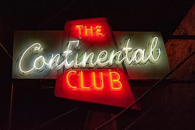 The Continental Club. Austin, Texas