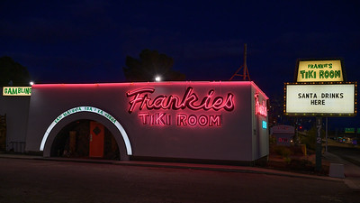 Frankie's Tiki Room Neon Sign, Las Vegas, Nevada