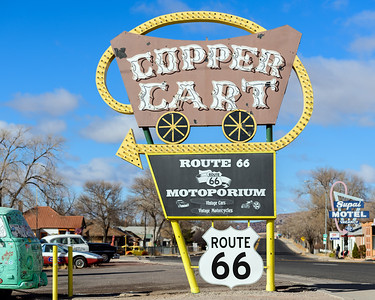 Copper Cart, Seligman, Arizona